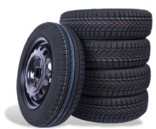 A Set of Wheel and Tyre Packages